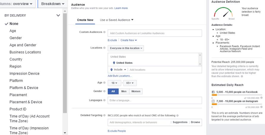 facebook benchmarks