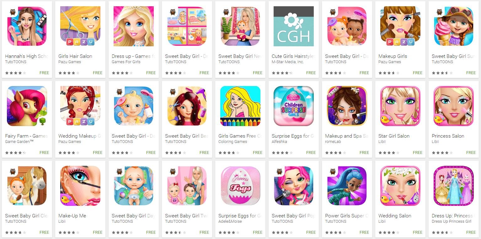 apps for girls