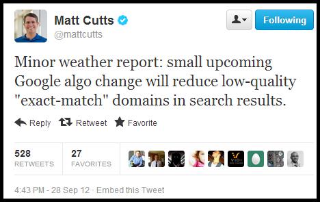 matt-cutts-google-emd-tweet