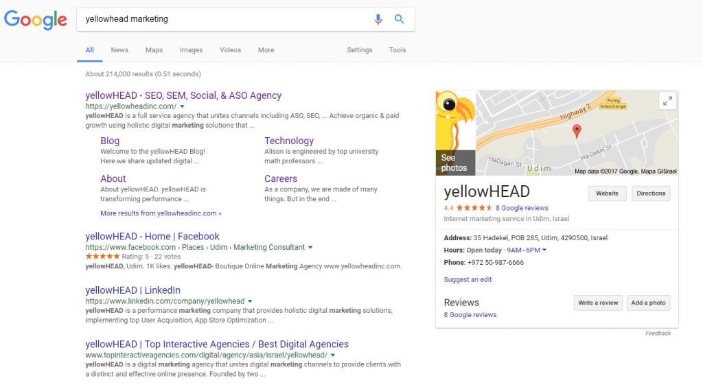 Google brand profile