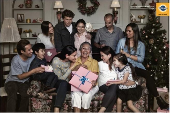 Pedigree holiday ad
