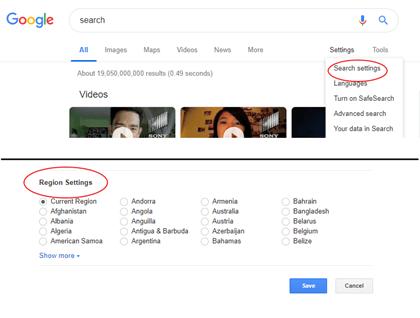 Google Local Store