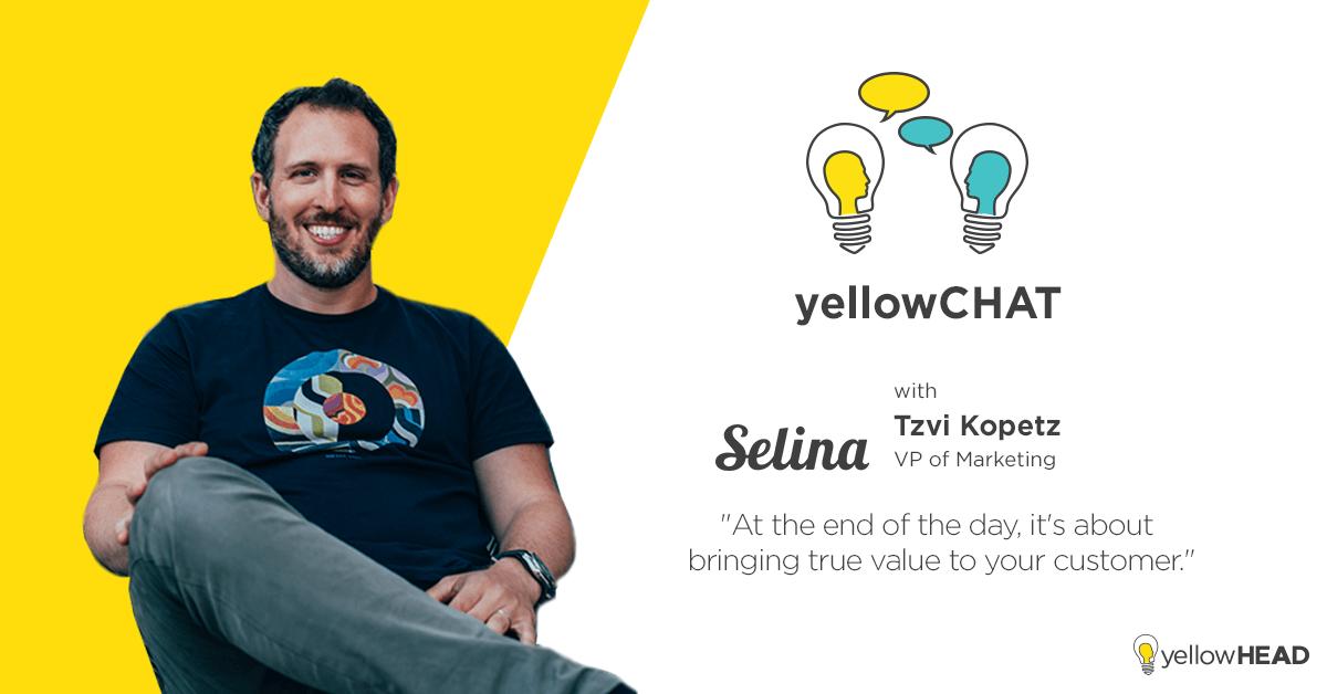 yellowCHAT, Tzvi Kopetz, Selina