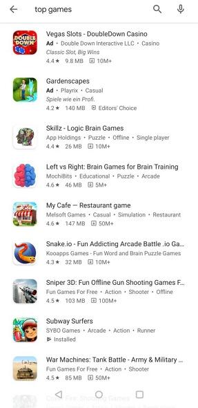 Google Play tags - Israel