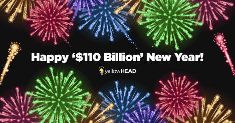 Happy '$110 Billion' New Year!  (in consumer App Store spend)