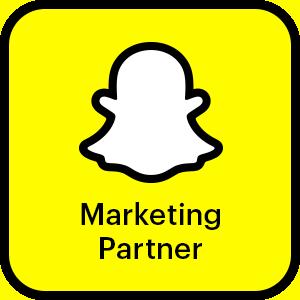 Snapchat Bronze Partner Badge
