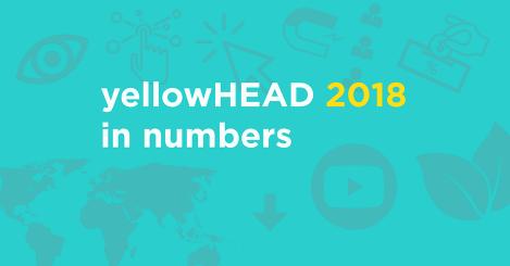 yellowHEAD 2018 in numbers